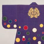 2 仙台藩历代藩主所用阵羽织(日本战国时代武将在战场上穿着的无袖和服,穿于铠甲之上,特色是方便美观、兼具防寒功能)(水珠纹样阵羽织)