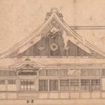 6 仙台城及江户上屋敷主要建筑物绘图