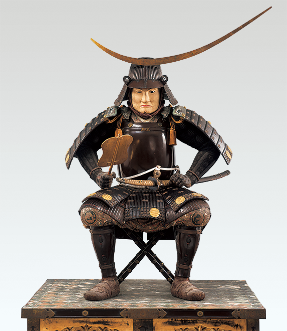 Seated statue of DATE Masamune