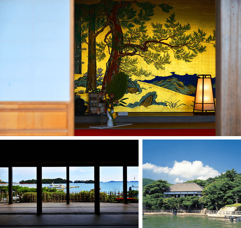 24 Kanrantei Tea House and partition paintings