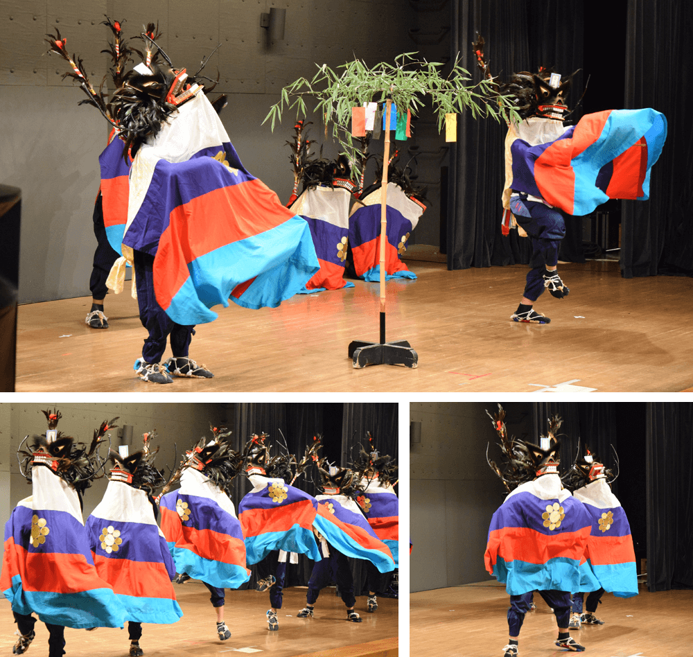 39 Dance performances of Kawamae Shishiodori and Kawamae Kenbai