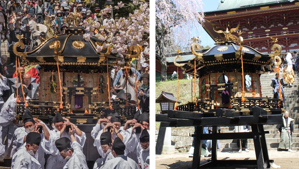 43 Hote-matsuri / Hana-matsuri at Shiogama-jinja (Shinto shrine)