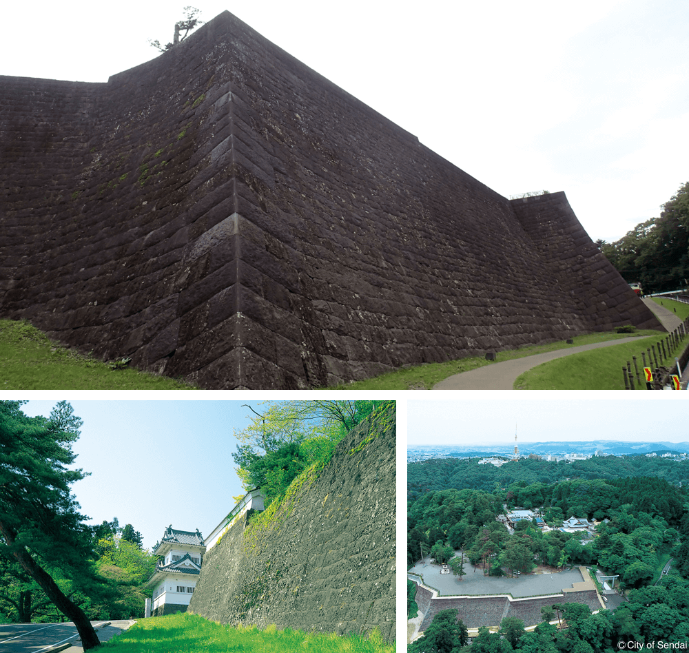 5 Site of Sendai Castle