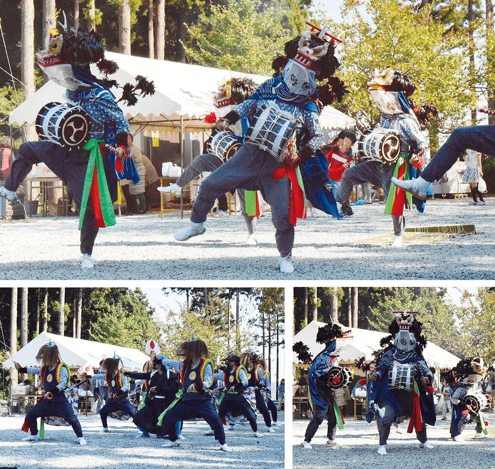 40 Dance performances of Shishiodori and Kenbai of Fukuoka