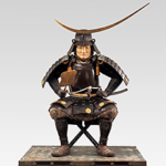 4 Seated statue of DATE Masamune