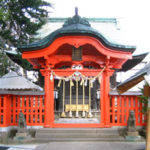 25 Tsutsujigaoka hill and shrine of Tenjin