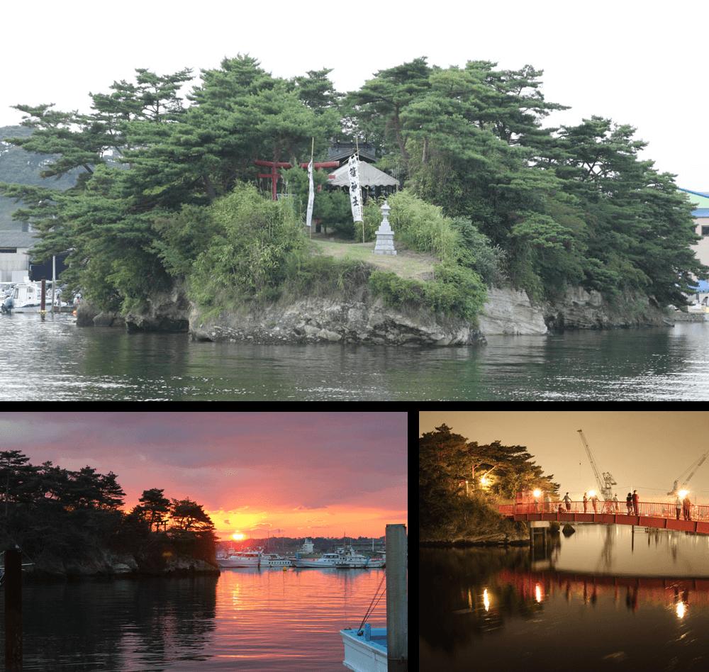 32 오쿠노호소미치의 풍경지 <br>마가키가시마 섬
