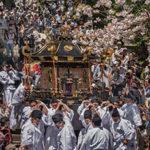 43 시오가마 신사 호테 축제・꽃 축제