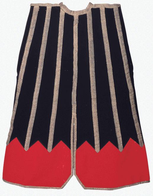 2 เสื้อคลุมประจำเจ้าครองเมืองเซนไดในแต่ละรุ่น (เสื้อคลุมจินบะโอริของดาเตะมาซามุเนะ ลายแบบยามากาตะ)