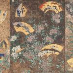 8 ภาพวาดบนฉากกั้นที่เกี่ยวข้องกับปราสาท<br>เซนไดและปราสาทวาคาบายาชิ
