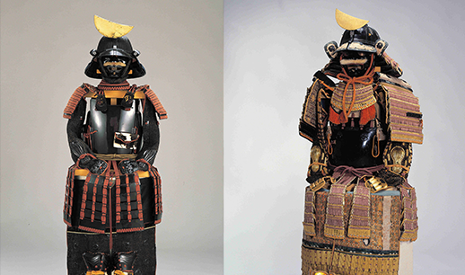 Armors owned by the successive lords of the Sendai domain