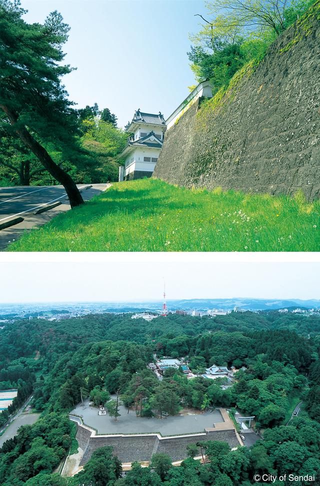 5 仙台城跡