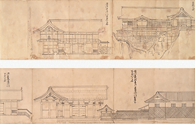 6 仙台城及び江戸上屋敷主要建物姿絵図