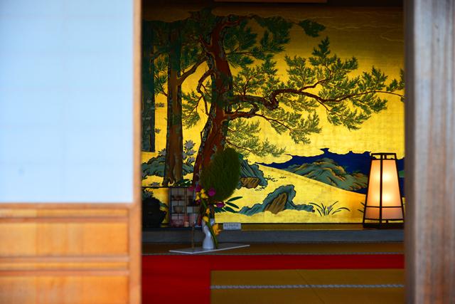 24 観瀾亭及び障壁画