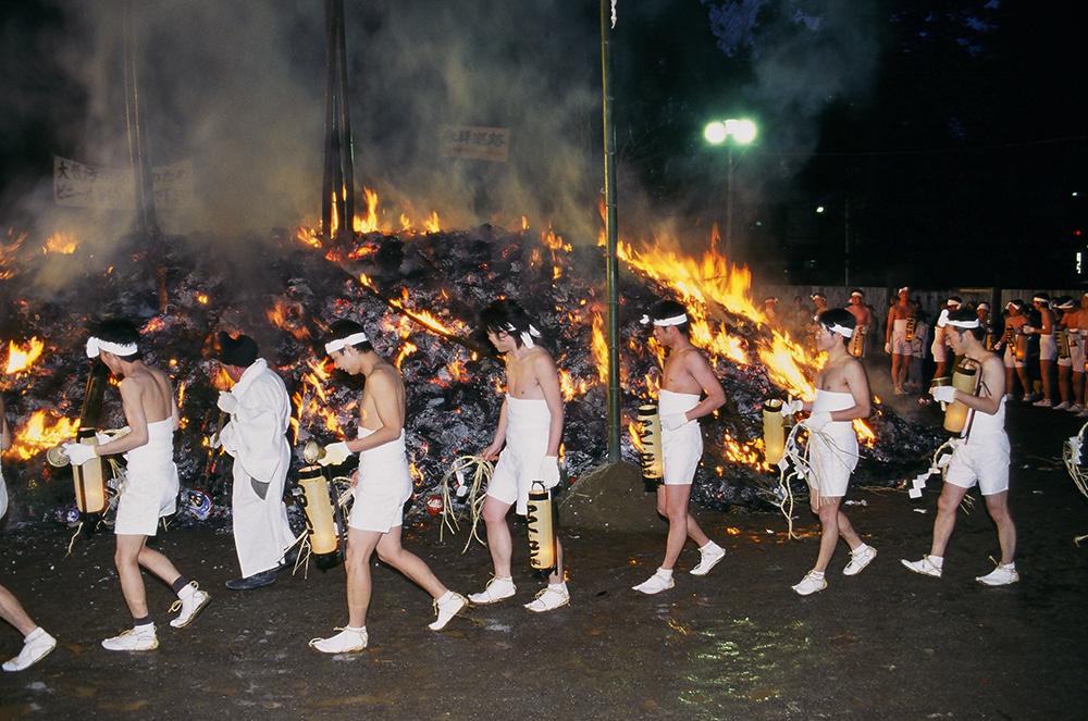 41 大崎八幡宮の松焚祭[どんと祭]