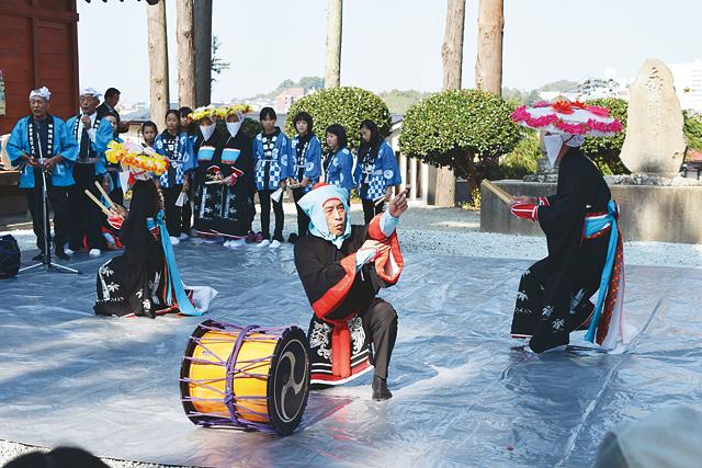 38 大沢の田植踊